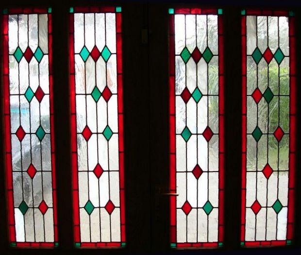 Stained Glass Products Stained Glass Suncatcher Windows Doors